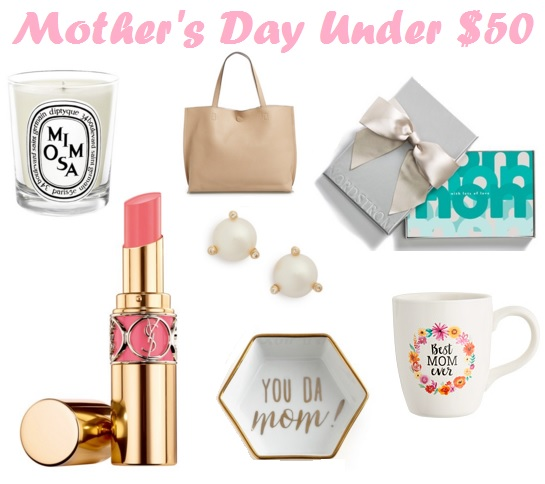 Mother's Day Gifts for Under $50