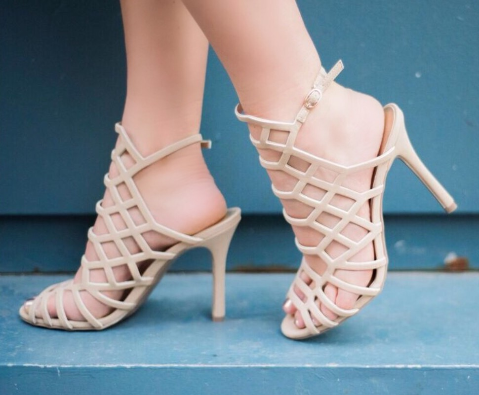 Get the Look for Less – Nude Caged in Heels