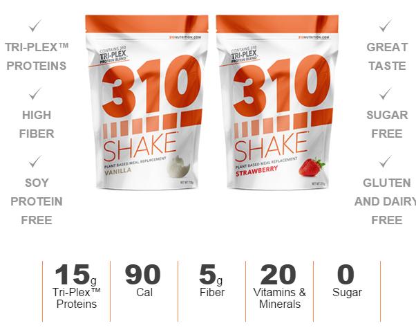 310 shake coupon code