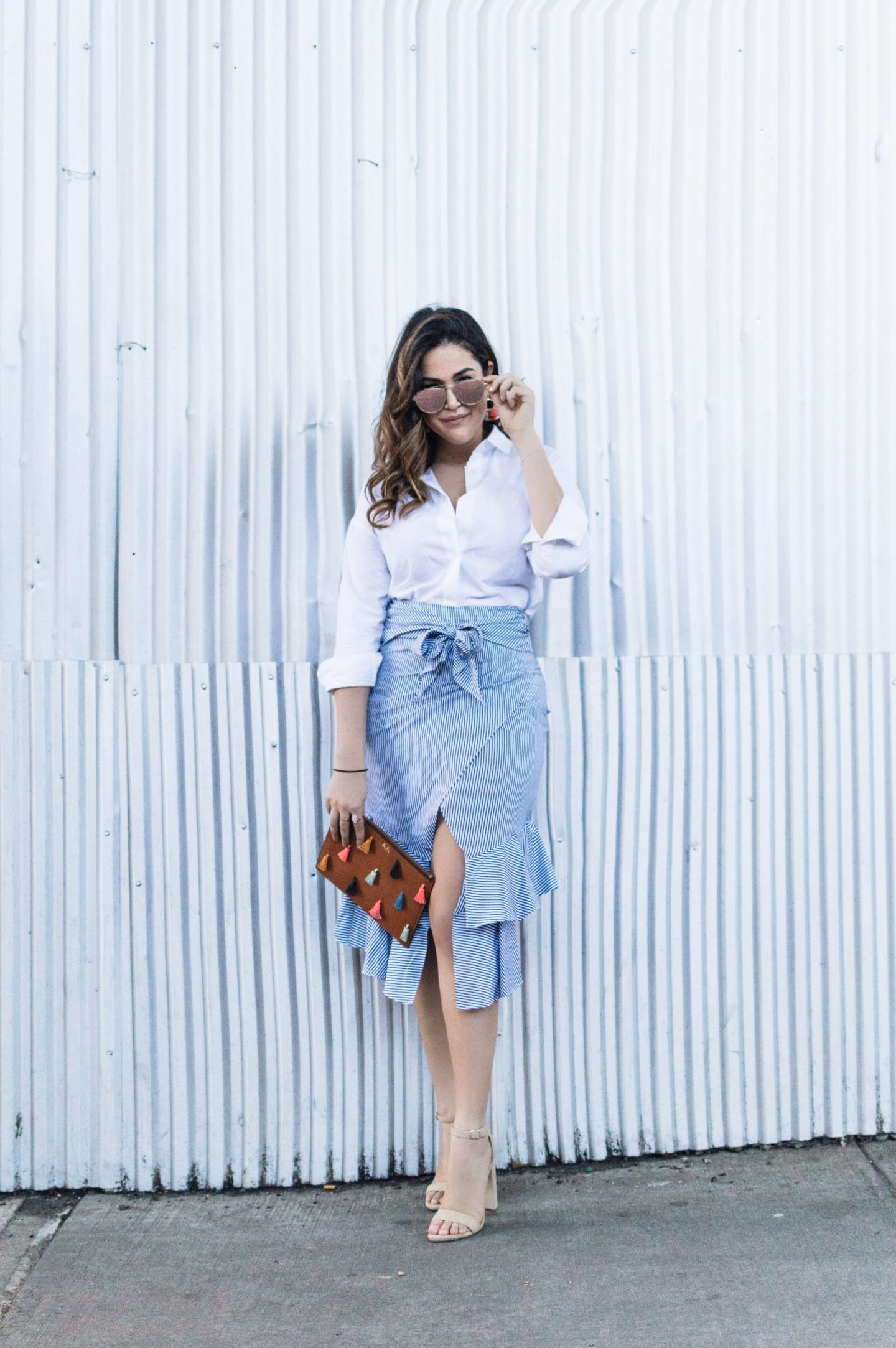 Ruffles, Stripes & Pops of Color