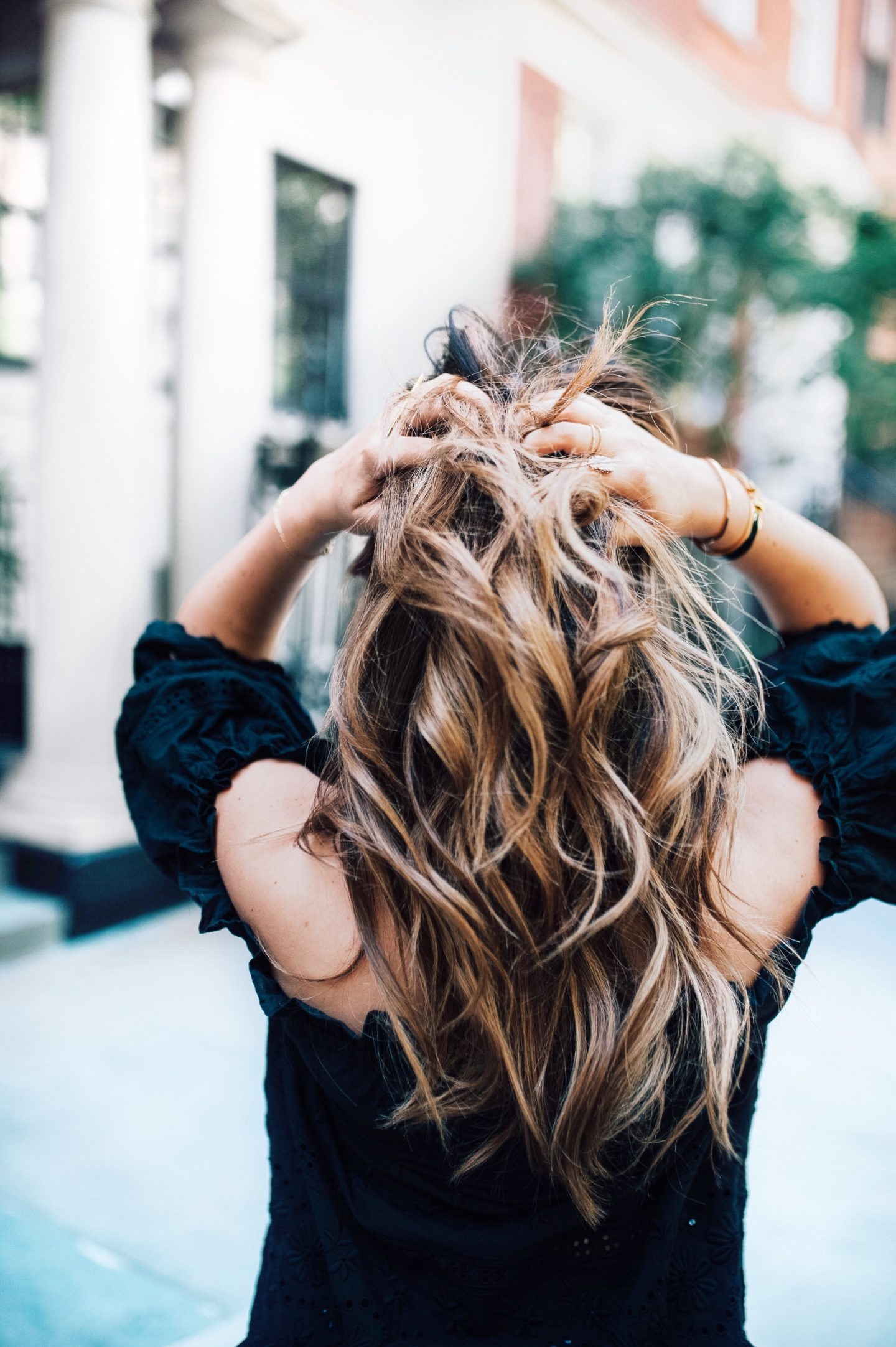 Hair Tips from one of NYC's Top Stylists: Going from Brunette to Balayage
