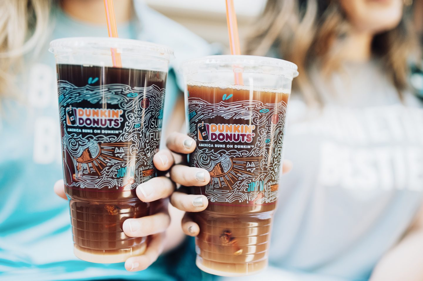 Sippin' My Way Through Summer – One Dunkin' Flavored Iced Coffee at a Time